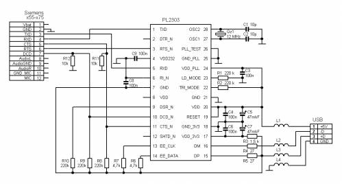 Pl2303 Usb To Serial Schematic - ideas-program60\'s blog